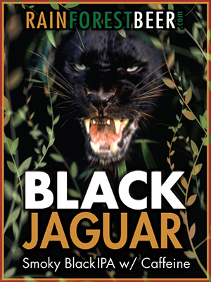 Rainforest Beer - Black Jaguar - Black IPA
